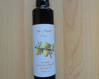 3 vials of 250 ml organic argan oil, roasted from Morocco