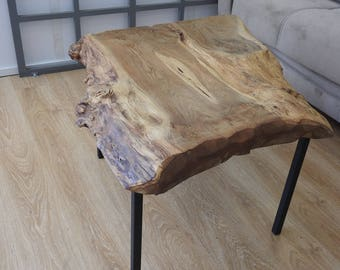 Natural Chestnut 80x85x55x8 Cm coffee table