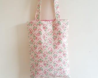 Pink Rose Shopper Bag, Handbag, Purse, Tote Bag - Ready for  Dispatch