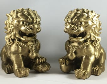 Chinese Guardian Lions (Pair)