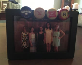 Bottle Cap Photo Frame