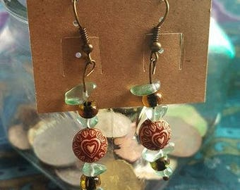 Romancing the Stone handmade earrings