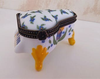 Piano porcelain hand painted