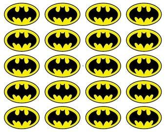 Batman Logo Batman sticker decal Batman Wall Decal Batman Birthday Party Batman wallpaper Batman Nursery Batman waterbottle