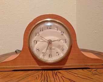 Clock, Seth Thomas Electric Alarm Made in the USA.