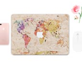World Map MacBook 12 MacBook 2016 Skins Mac Air 11 inch Case World Map MacBook Retina 15 Laptop Sticker Map Macbook Pro 13 2016 ESD011