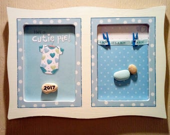 Baby boy plaque 2017