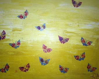 Butterflies on Canvas