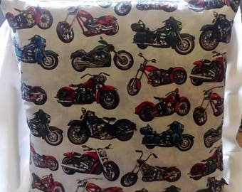 """Motorcycle Motorbike cushion cover 16""""x16"""""""