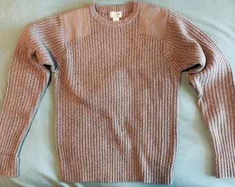 L.L. Bean 100% Merino Lambs' Wool Commando Sweater