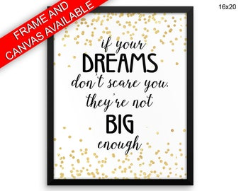 Dreams Prints  Dreams Canvas Wall Art Dreams Framed Print Dreams Wall Art Canvas Dreams Motivation Art Dreams Motivation Print Dreams