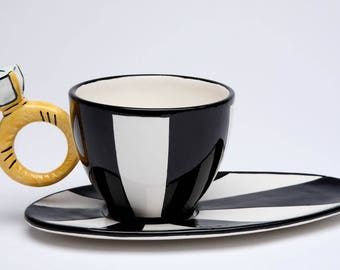 Diamond Ring Cup and Saucer (62409)