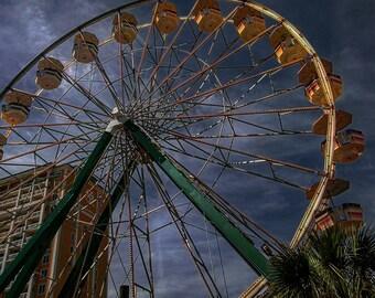 Ferris Wheel in Storm