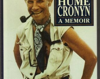 A Terrible Liar : A Memoir by Hume Cronyn (1991, Hardcover) with Original Author's Signature