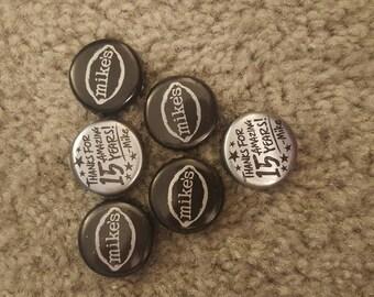 6 Bottle Cap Magnets