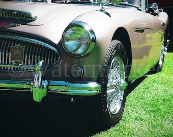 Classic Tan Car