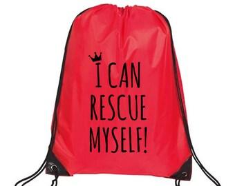 Drawstring Bag, Beach Accessories, Nylon Drawstring Backpack, Kids Bag, Girls Drawstring Bag, Beach Bag, Toddler Bag, Feminist bag