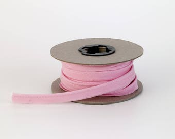 """Broadcloth cord piping, 1/2"""" Wide, 15 yds, Pink"""