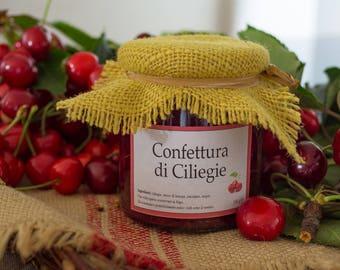 Handmade Extra Jam with organic Cherries