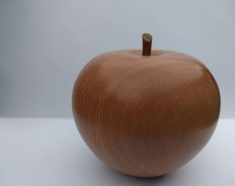 Turned Wooden Apples