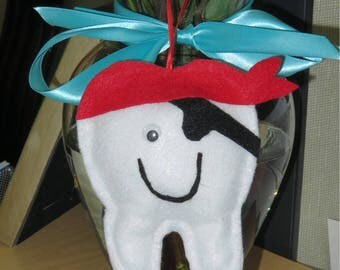 Toothfairy pillow pirate