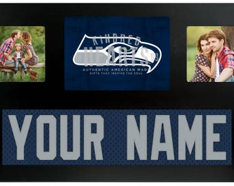 Seattle Seahawks NFL Jersey Custom Picture Frame
