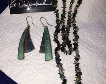 Beautiful Necklace and earrings,