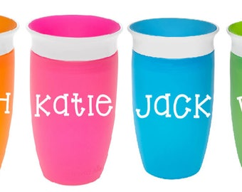 Personalized Munchkin Miracle 360 Cup