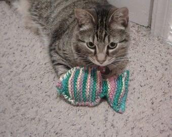 Rainbow Fish Cat Nip Plush