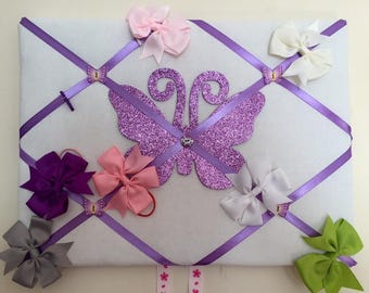Glow in the Dark Memory Notice Board / Bow Holder 40x30cm