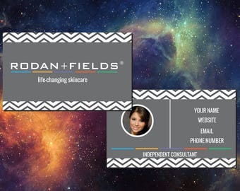 Rodan + Fields Business Card Design