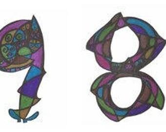 1983 Phantom Number Art Design