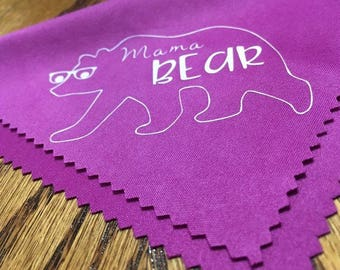 Mama & Little Bear Eyeglass Cleaning Cloth