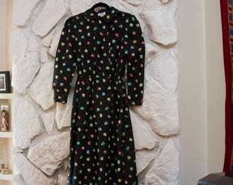 60's Style Floral Dress