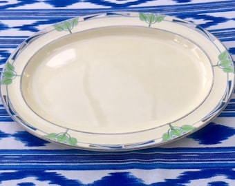 Booths Silicon Pottery Art Deco Platter for Harrods