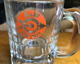 Mini A&W Rootbeer Mug from the early 60's