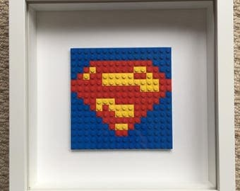 Lego super hero frames