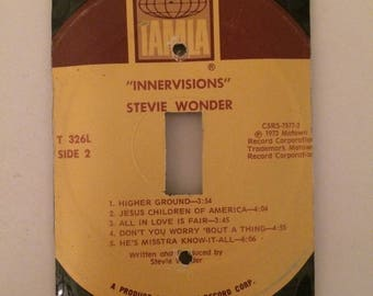 Stevie Wonder Innervisions Vinyl Record Switchplate Cover
