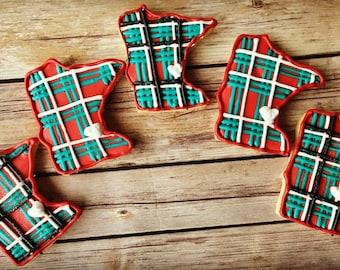 Minnesota State Sugar Cookies, Custom State Cookies