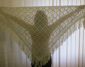 Crochet Shawl/Shoulder Shawl