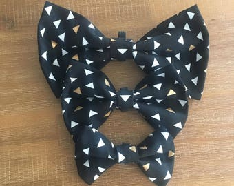 Pet Bow Tie- Black Triangle
