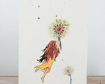 Seeded Paper Gift Card - Dandy Dreams