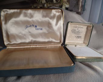 Group of Vintage Jewelry Designer Boxes