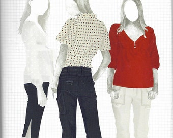 Simplicity 4110 - BUILT BY WENDY - Built By You Pants / Jeans & Capris  - Sewing Pattern - Sizes 12-14-16-18-20 - Uncut