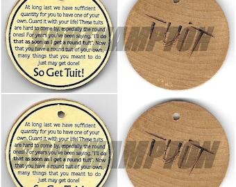 Round To It Digital Labels T.U.I.T.