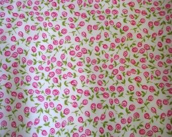 Spring Flower Bud Print Lycra Fabric