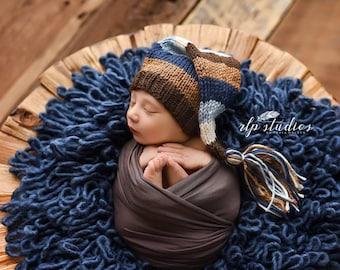 Sweet Dreams - Newborn Tassel Stocking Hat
