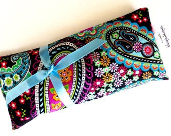 """French Lavender Eye Passion Pillow--  """"Paisley Flowers """" Soothe your mind, Empower your Passion, Rest &  Dream"""