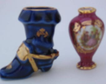 Two Small Limoges Pieces