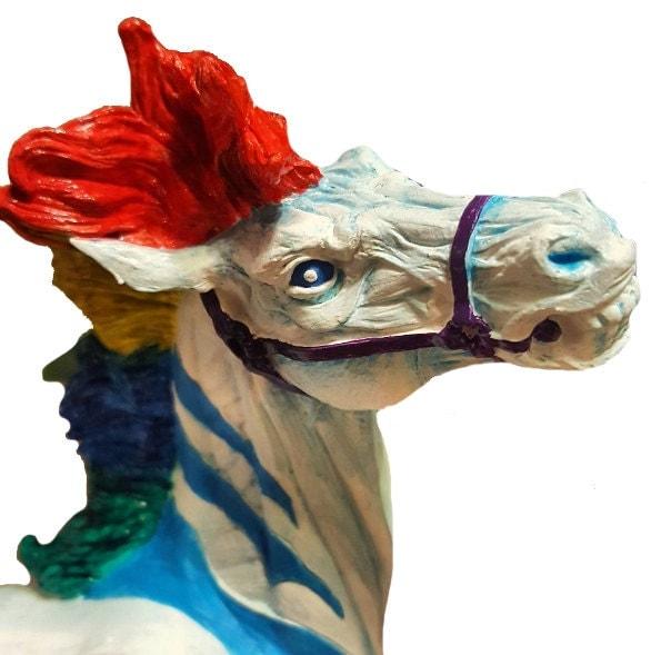 Final Fantasy Odin Horse Sleipnir RAINBOW Pride fantasy